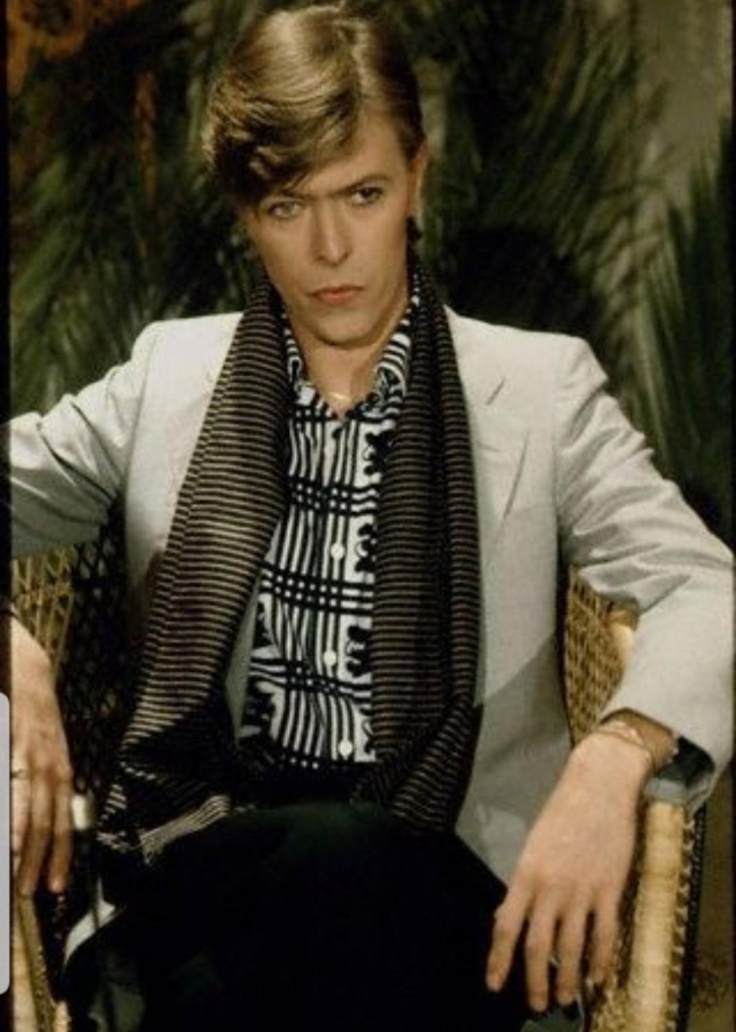 DAVID BOWIE IN FRANCE This fabulous picture of David Bowie was taken in France by Sarah W. on Flickr.