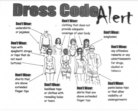 "Screenshot from Google search ""dress code policies"", shows common dress code policies, taken by Cameron Norton on October 16, 2018"