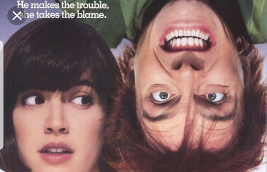 Lizzie And Fred From Drop Dead Fred.