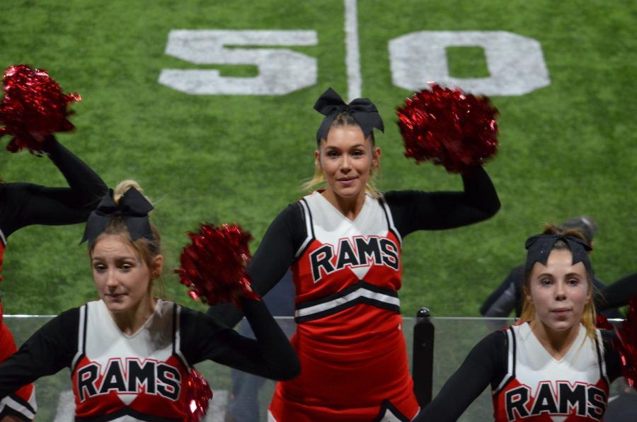 Showcase of Highland's Cheerleaders