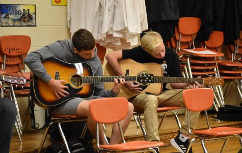 Guitar lessons provide a 'chill' experience