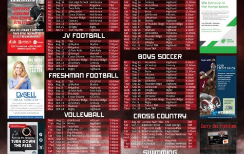 Fall sports poster arrives