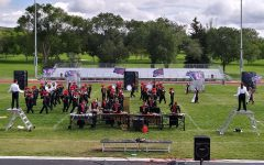 Eleven bands from across Idaho perform at Iron Horse Stadium for Band Invitational