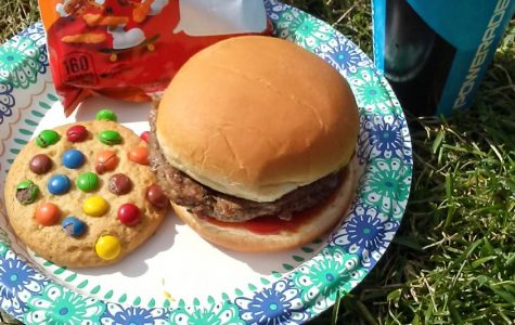 The annual Homecoming BBQ