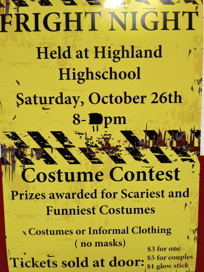 Fright+Night+posters+can+be+found+throughout+the+hallways%2C+giving+students+information+about+the+dance.