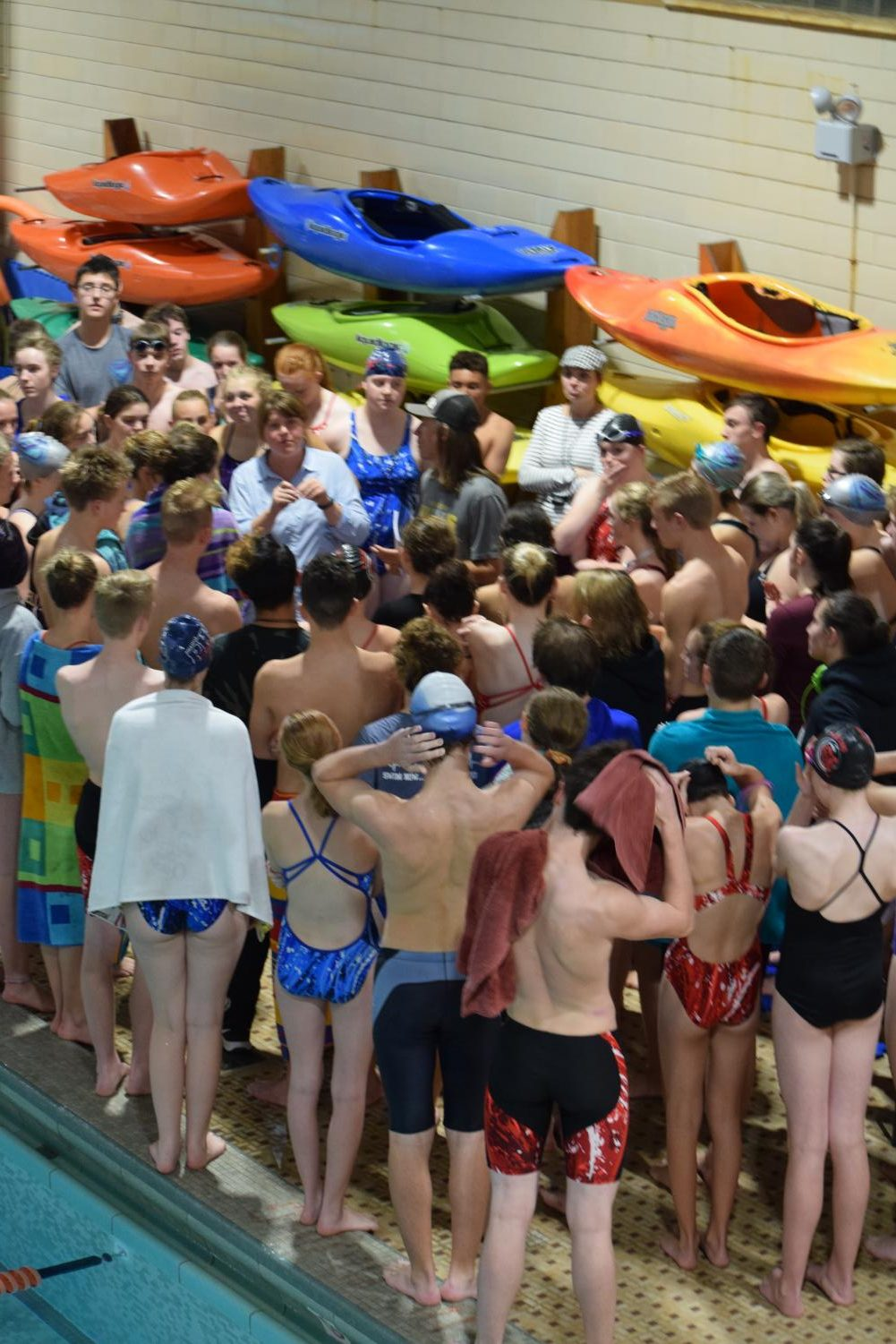 The districts mixed swim team with Highland, Century, and Pocatello