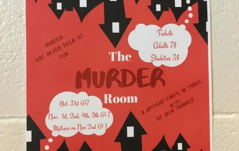 Something Falls during The Murder Room by Highland Drama Club