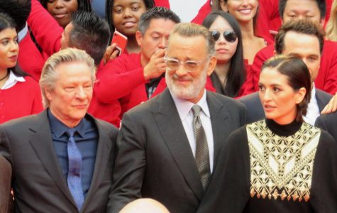 Chris Cooper, Tom Hanks, Marielle Heller at the premiere of A Beautiful Day in the Neighborhood, 2019 Toronto Film Festival