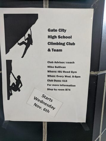 Gate City Highschool Climbing Club