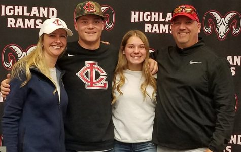 Student athletes sign with colleges