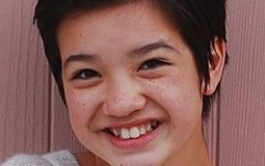 """Peyton Elizabeth Lee at the beginning of her career. Peyton Elizabeth Lee was born in New York City, Peyton moved to Manhattan Beach, California and began her career at the age of 10. She is most known for her lead role in Andi Mack and recurring roles in tv shows. She was nominated for 2 awards and won """"Best Young Ensemble in a Television Series"""" award. She plays Sam in Secret Society of Second Born Royals."""