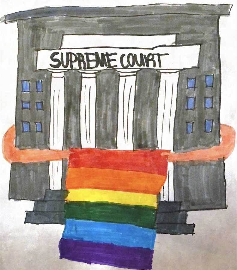 Gay rights are in the hands of the supreme court