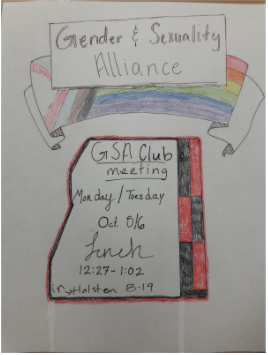 This poster was created by a fellow GSA member.