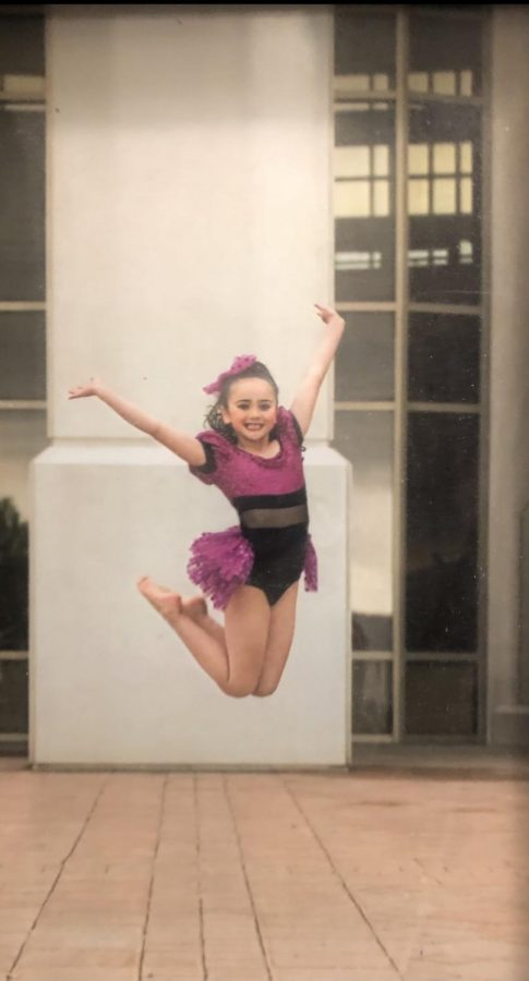 Hope Garzas first dance photoshoot at the Stephens Performing Arts Center!