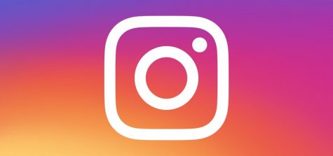 The logo of the instagram app for your phone or computer.