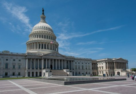 """At the United States Capitol building, politicians debate many of the issues we hear about. """"US Capitol"""" by Mark Fischer is licensed under CC BY-SA 2.0"""