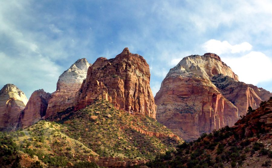 Zion National Park, in southern Utah, is a popular national park.